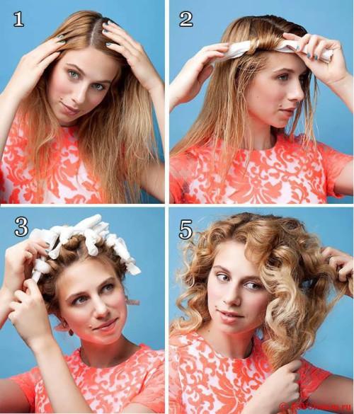 Как сделать чтобы кудри держались на длинных волосах 2