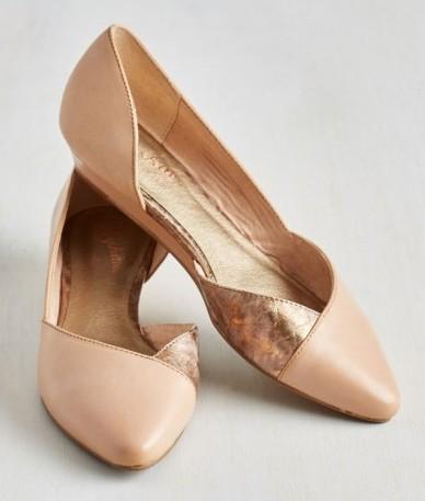 Туфлі на суцільній підошві – модно e6d903f432790