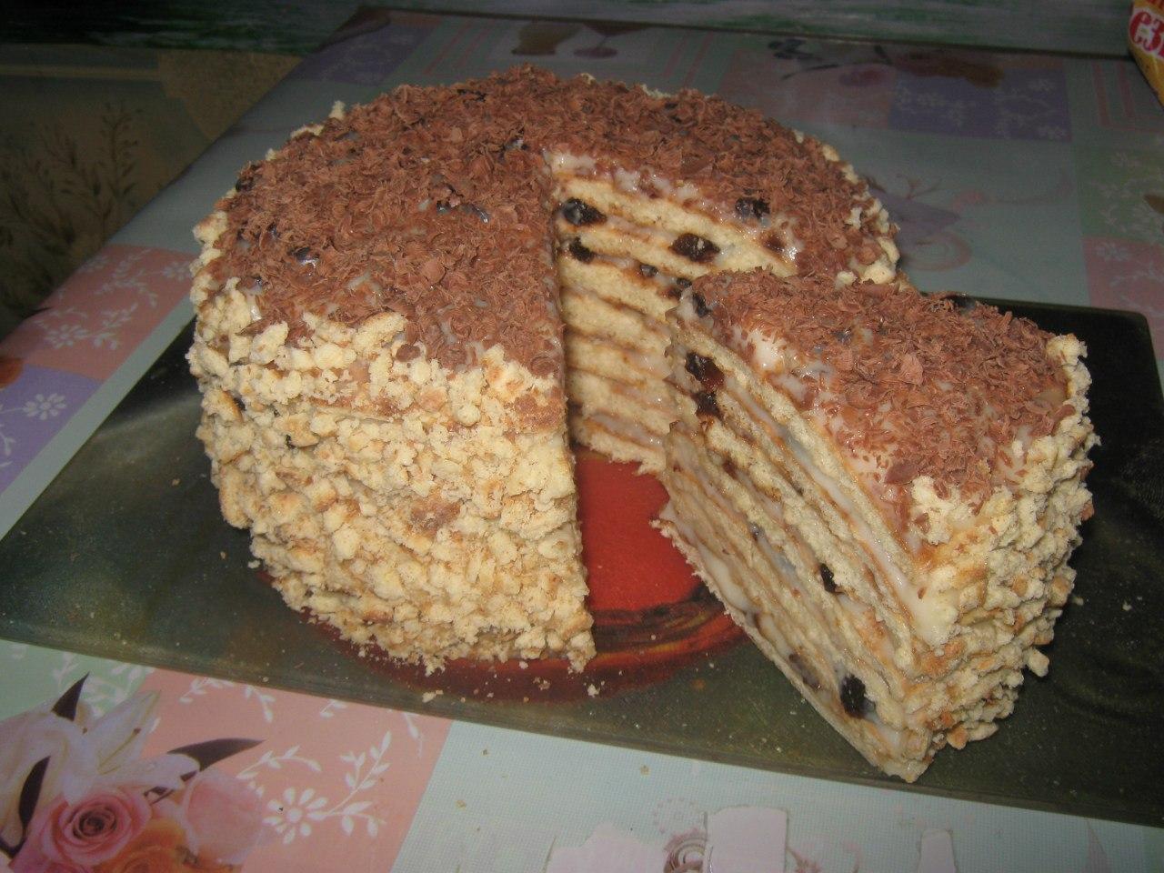 Как сделать домашний торт рецепт и фото 421