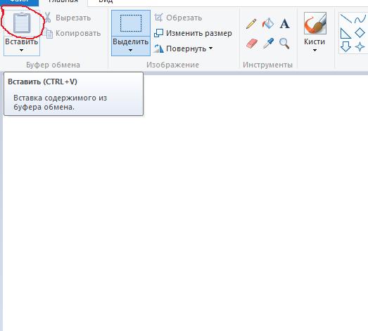Как сделать скриншот данных 36