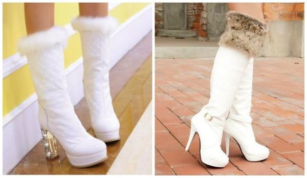 Білі чоботи  fab6654215f22