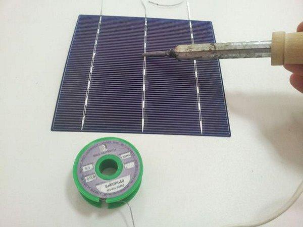 Изготовить солнечные элементы своими руками 3