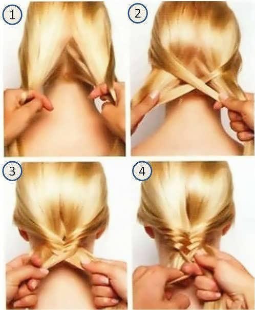 Как сделать рыбью косу
