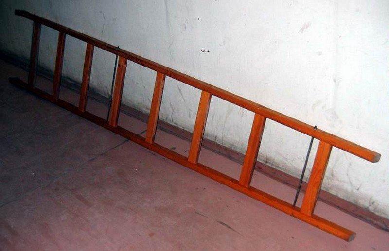 Высокая приставная лестница своими руками 36