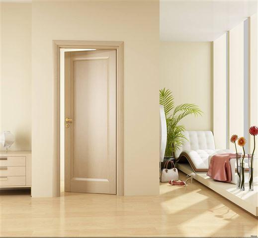 Ламинат к дверям цвета капучино