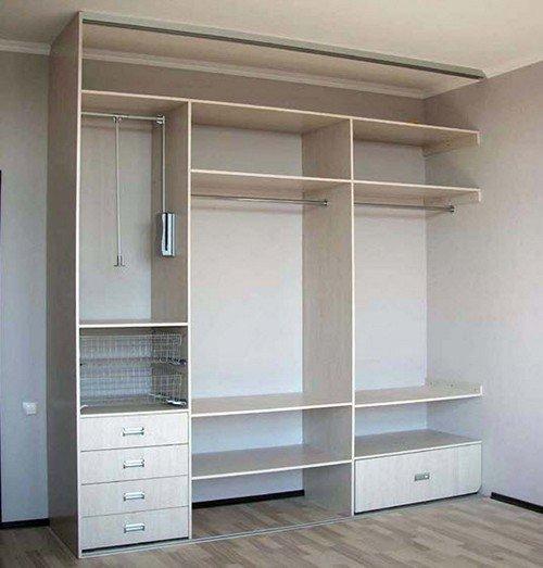 Встроенный шкаф своими руками в прихожую чертежи фото