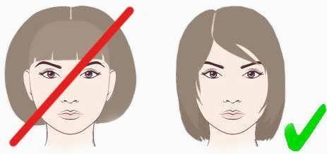 Прическа если у тебя длинноватое лицо