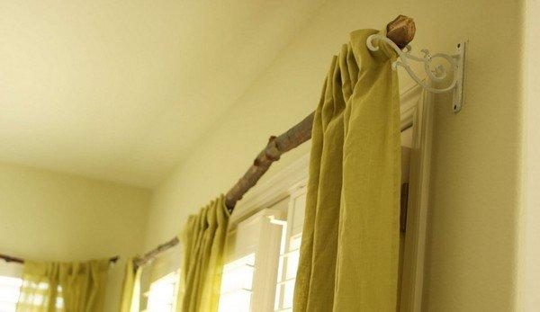 Карниз для окна своими руками 982