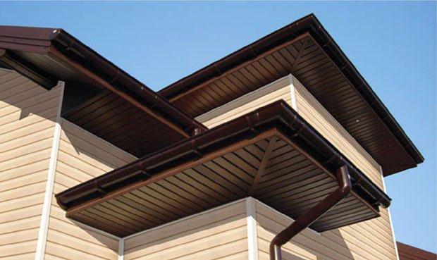 Картинки по запросу Чим можно підшити карниз даху?