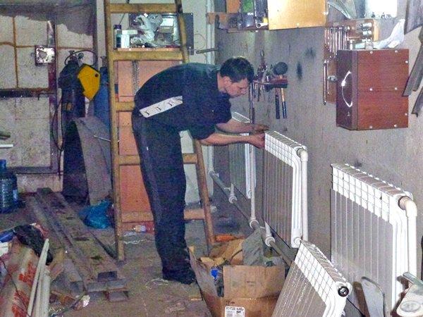 Как сделать отопление в гараж своими руками 399