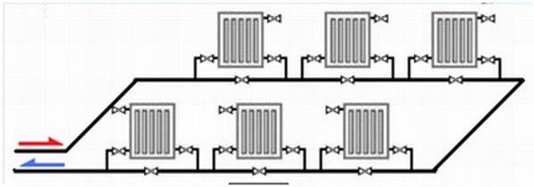 Схема отопление в частном доме из полипропиленовых труб своими руками схемы 85