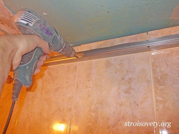 Как сделать панели в ванной без каркаса