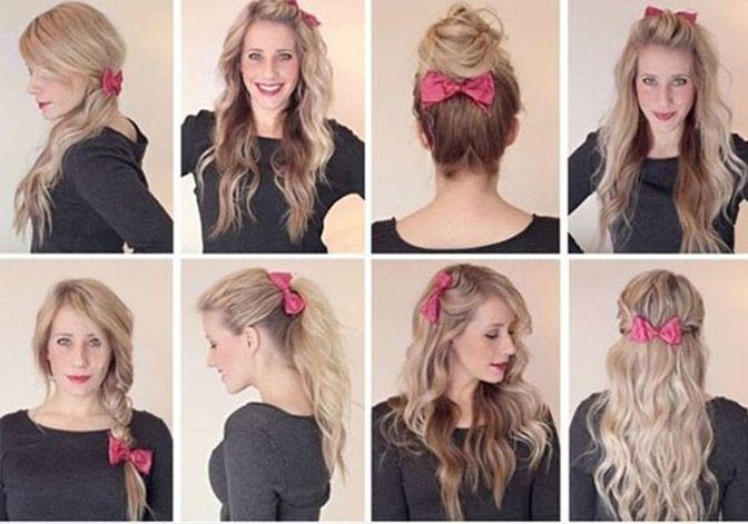 Как уложить волосы в прическу с помощью заколки