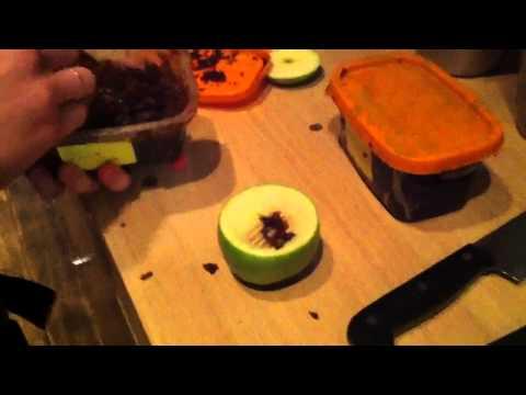 Как сделать из яблока для кальяна 772