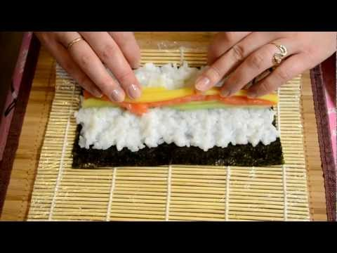 Готовка суши в домашних условиях