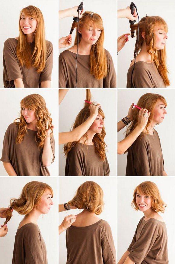 Какую сделать прическу на длинные волосы фото