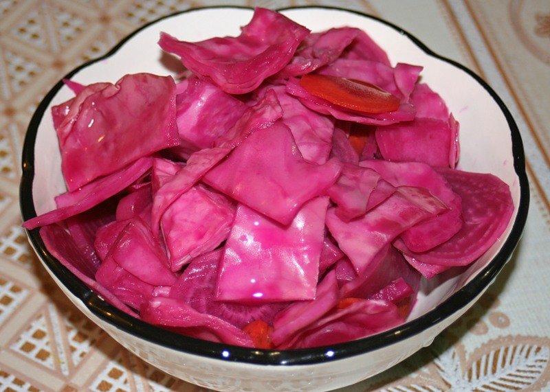 Рецепт вкусной хрустящей капусты быстрого приготовления