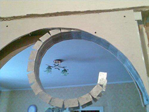 Делаем арки из гипсокартона своими руками видео