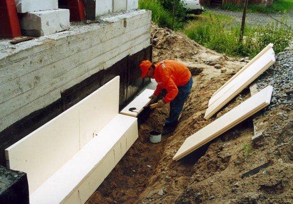 Как правильно сделать завалинку у деревянного дома 907