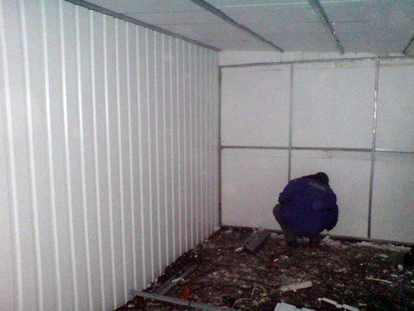 Стены гаража своими руками 97