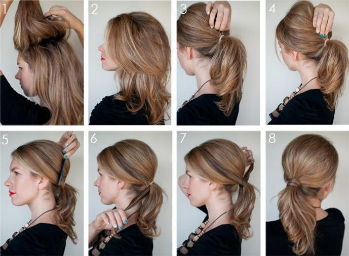 Прическа своими руками на тонкие волосы фото 82