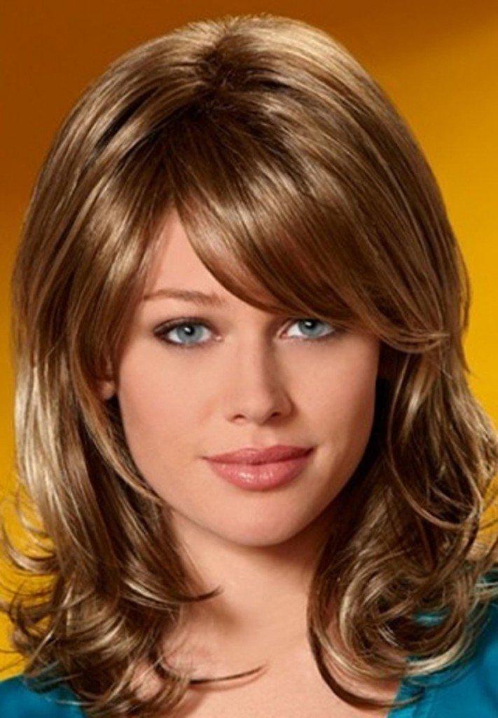Прически стрижки на средние волосы самые красивые фото
