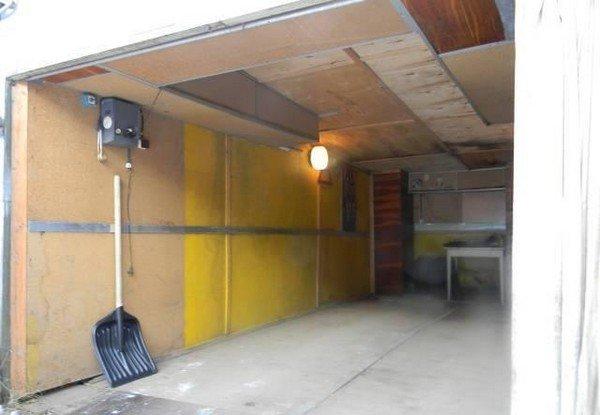 Утепляем гараж своими руками 73