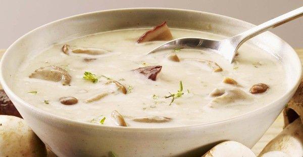 рецепт супа из шампиньонов с вермишелью