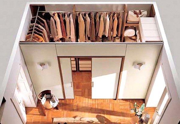Как сделать гардеробную своими руками в домашних условиях из дерева 93
