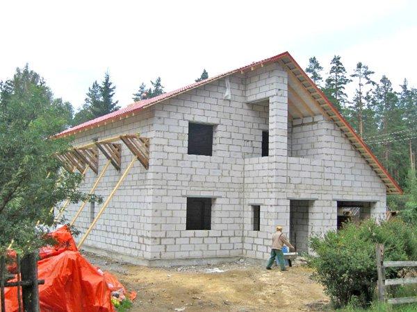 Как построить дом из блоков своими руками с фото
