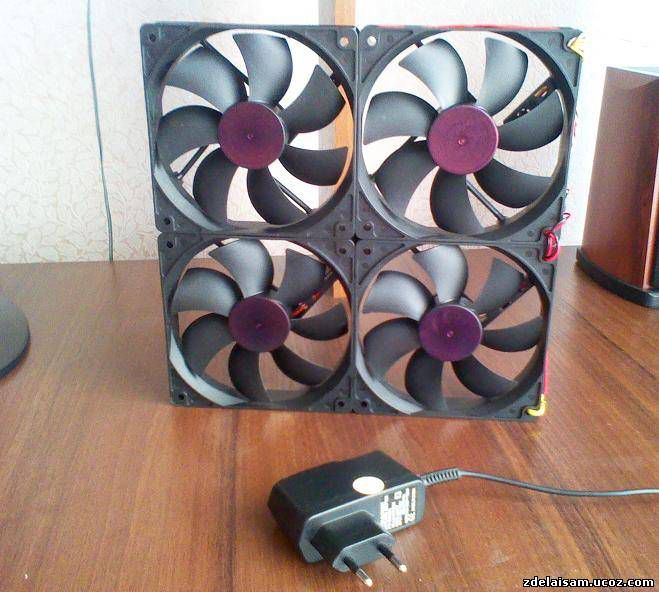 Как из кулера сделать вентилятор через usb 621