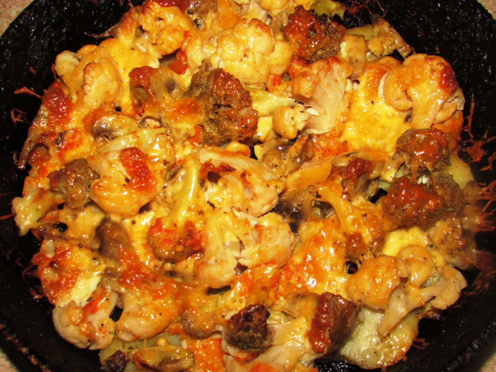 Как запечь цветную капусту с сыром в духовке пошаговый рецепт