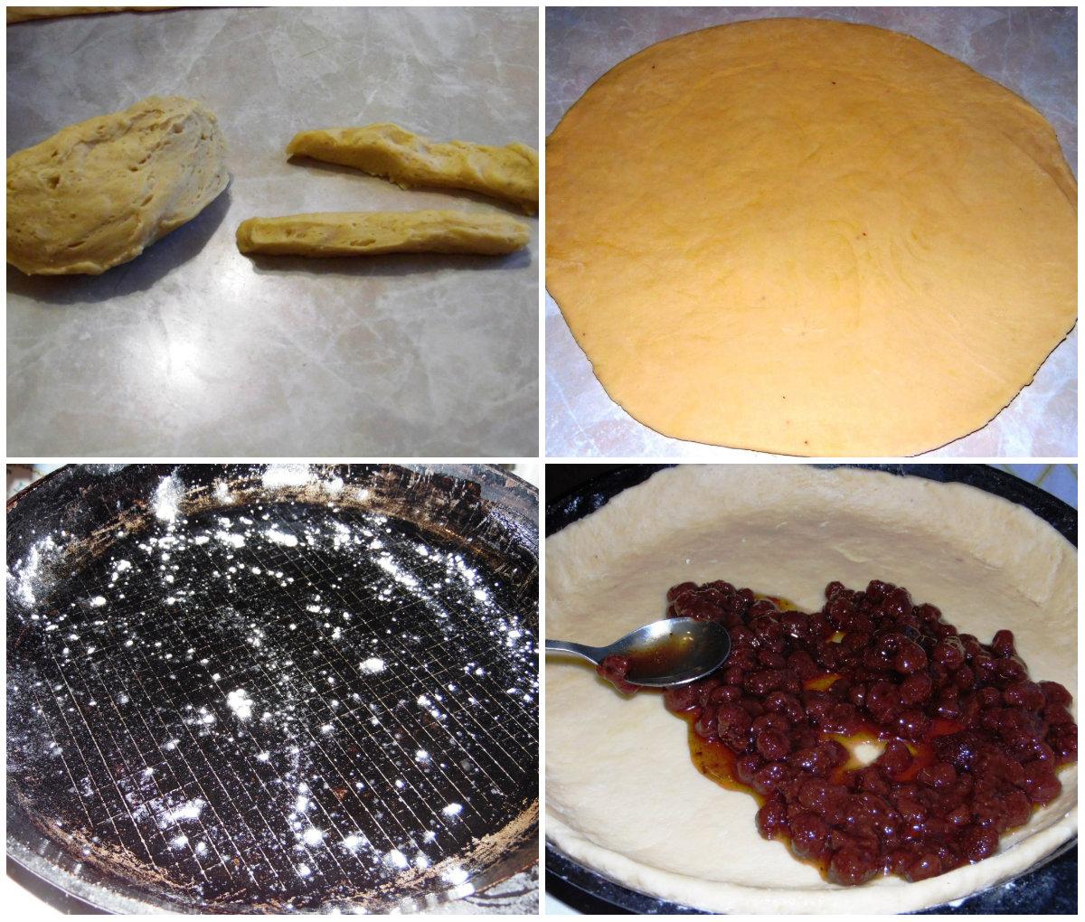 Пирог на молоке без дрожжей - пошаговый рецепт с фото