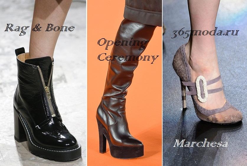 51d087fa175606 Модне взуття осінь-зима 2016-2017 фото новинки тенденції | Краса