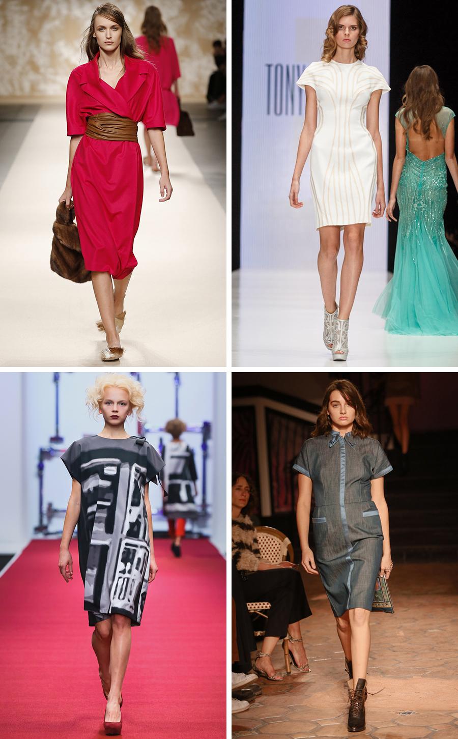 Мода весна лето 2018 тенденции платья фото