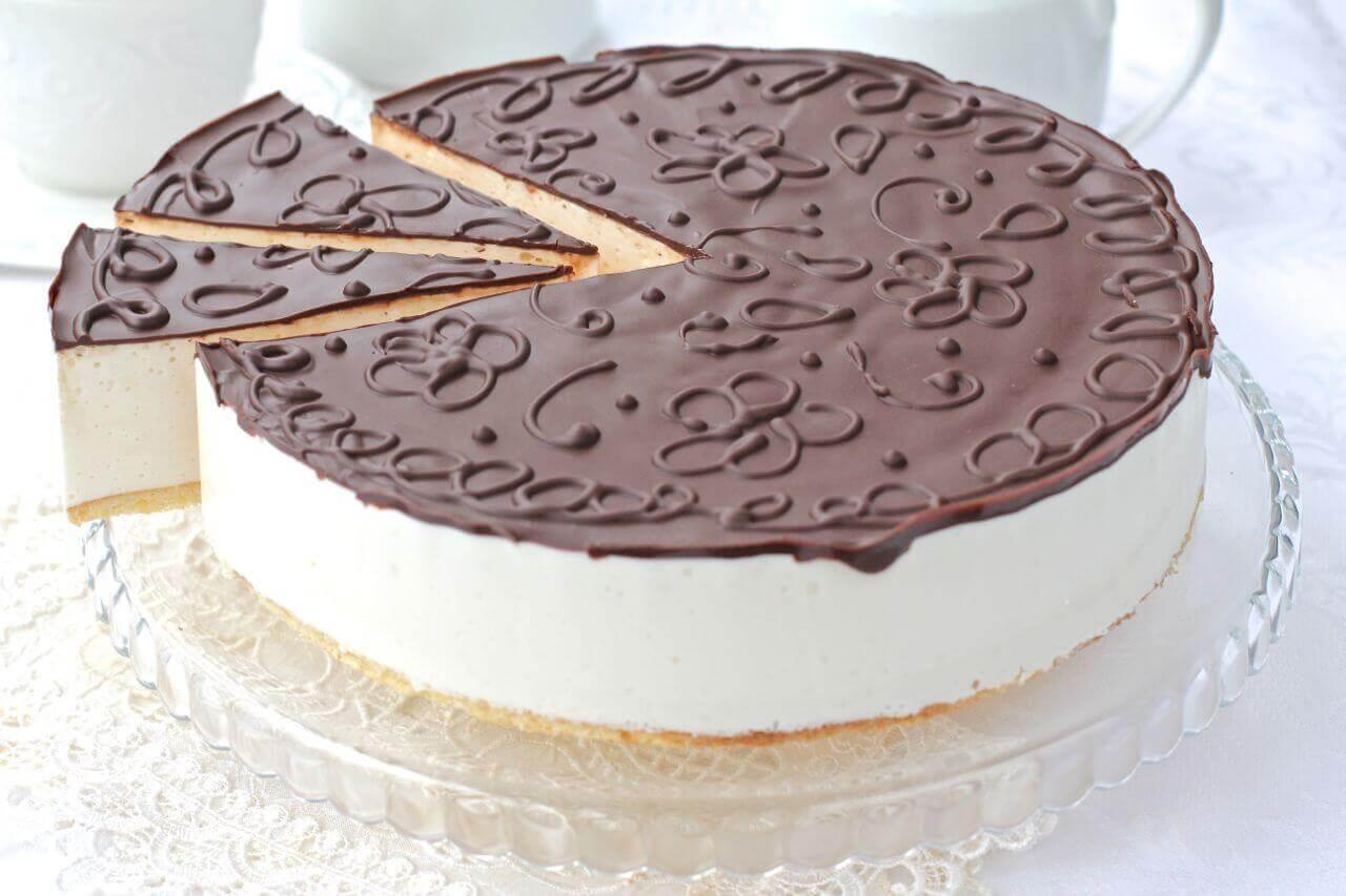 Молочное суфле для торта рецепт пошагово