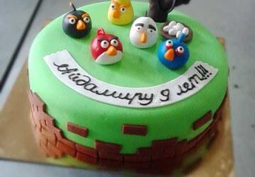 дитячий торт на 1 рік рецепти