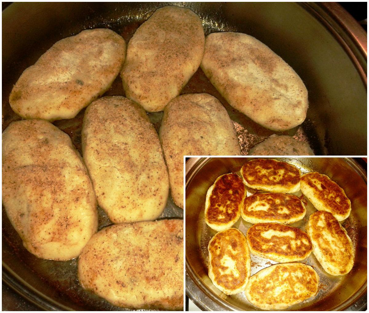 Рецепт картошки с фаршем на сковороде рецепт
