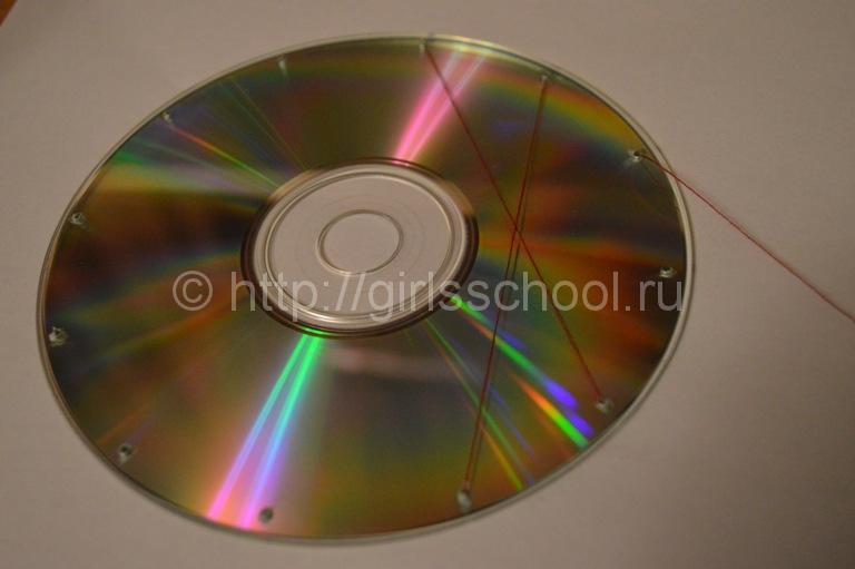 Музыкальные диски поделки из них 852