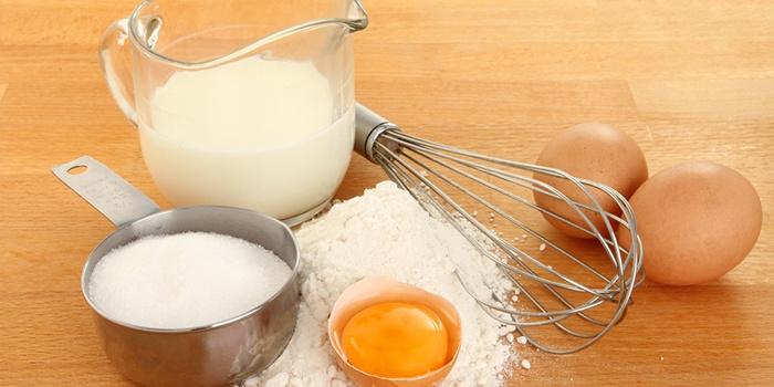 Как сделать тесто из яйца муки и сахара
