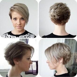 короткие зачіски фото