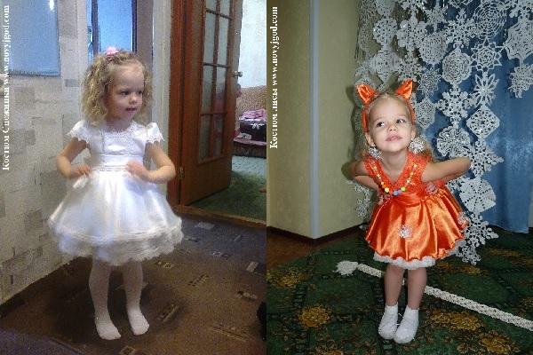 Новорічний костюм для дівчинки своїми руками легко зшити за нашими  викрійками  d0fb85d3cdbab
