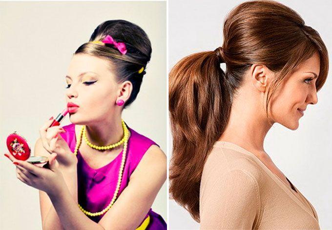 Как сделать прически для девушек стиляг 472