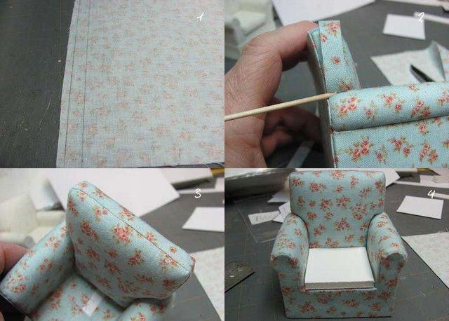Как сделать для кукол мебель своими руками 64