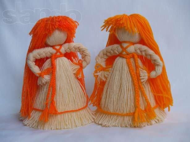 Куклы из пряжи своими руками пошагово 23