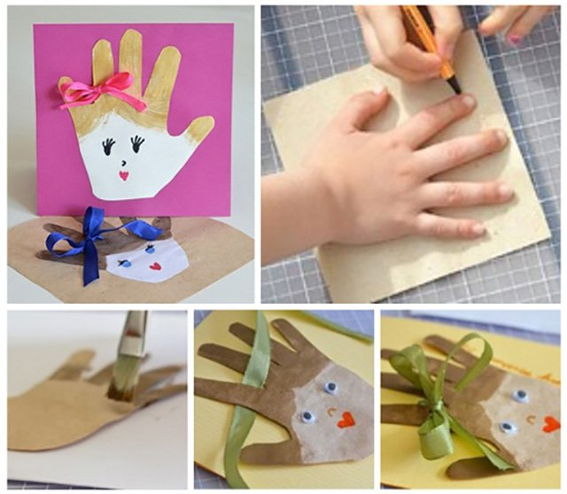 Подарок для бабушки из бумаги своими руками видео