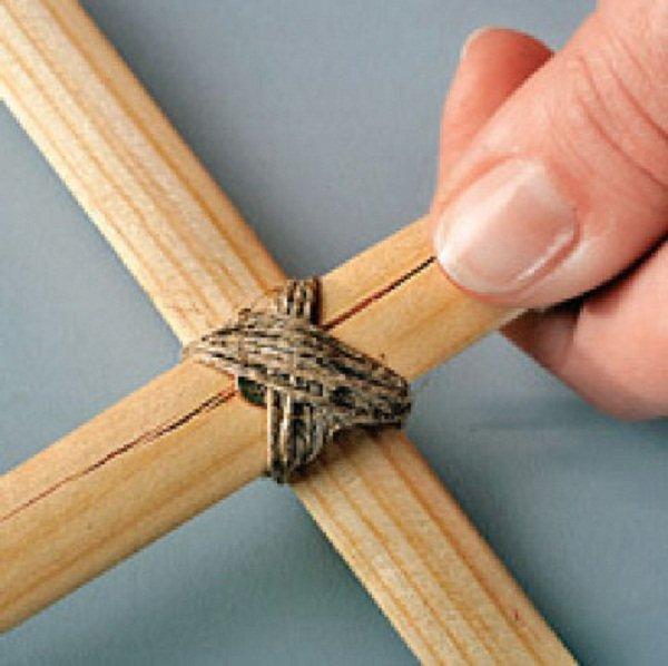 Как сделать две палки