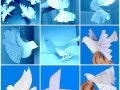 Поделки как сделать голубя из