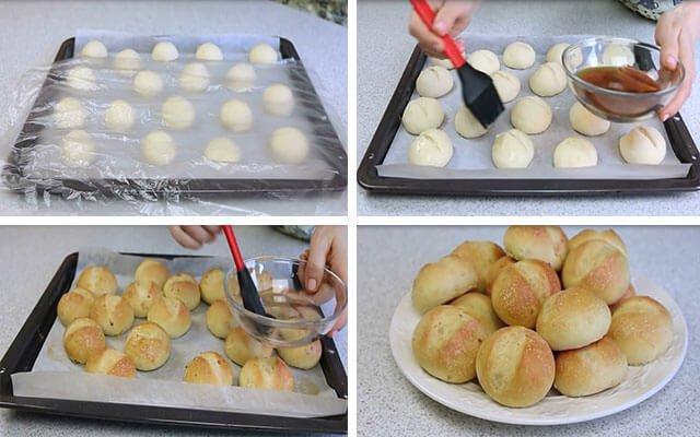 Часникові булочки | Рецепт до борщу