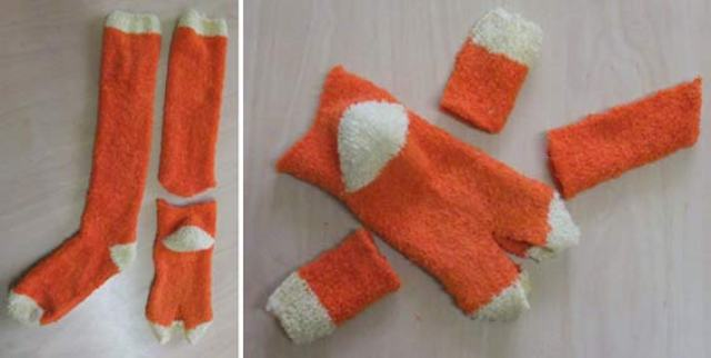 Игрушки своими руками из носков и перчаток своими руками